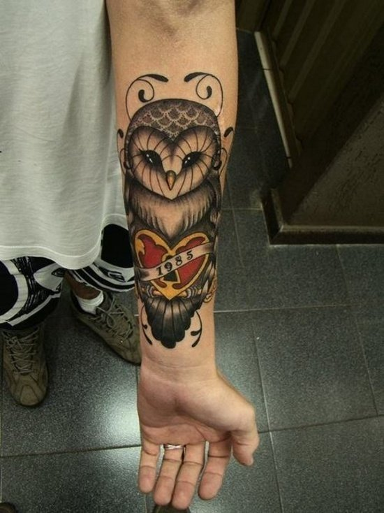 owl tattoo (28)