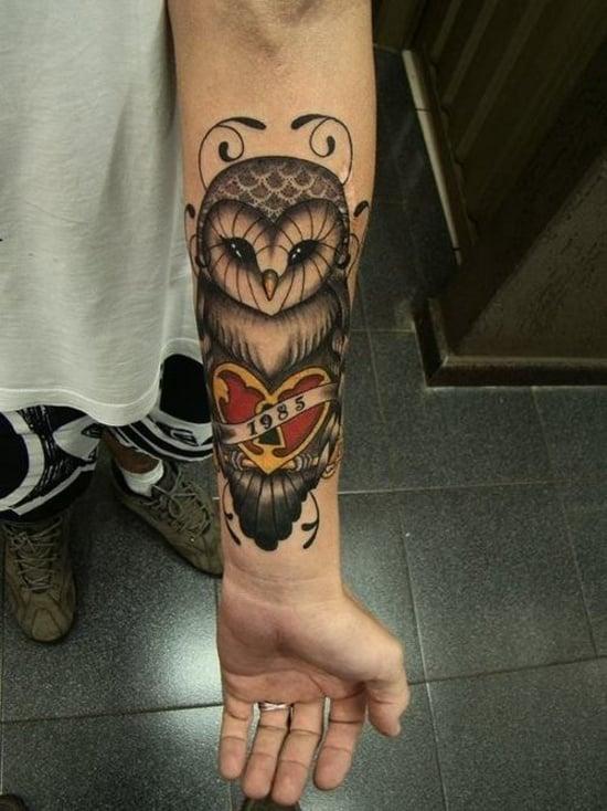 owl tattoo (28)