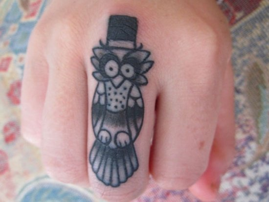 owl tattoo (31)