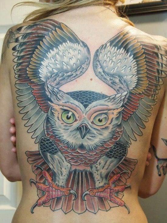 owl tattoo (34)