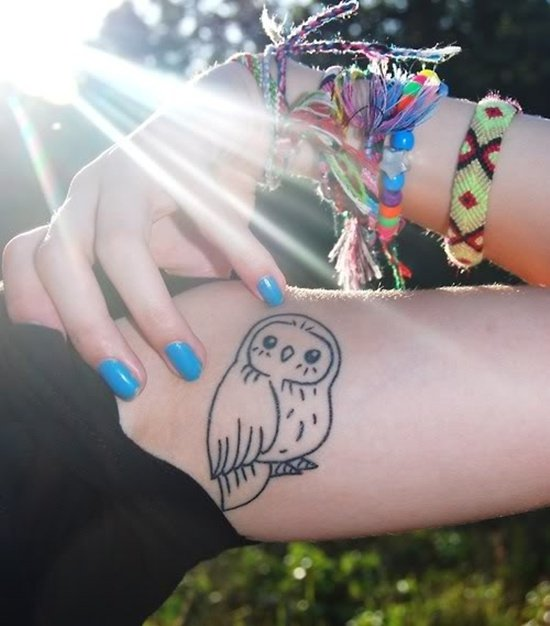 owl tattoo (35)