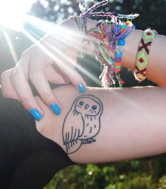 owl tattoo (35)