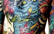 owl tattoo (39)