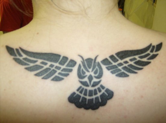 owl tattoo (4)