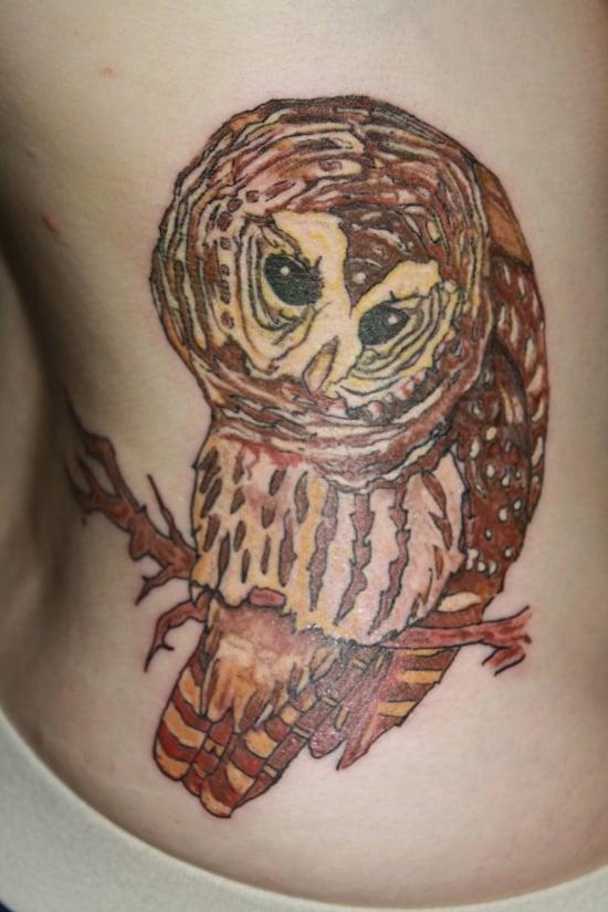 owl tattoo (5)