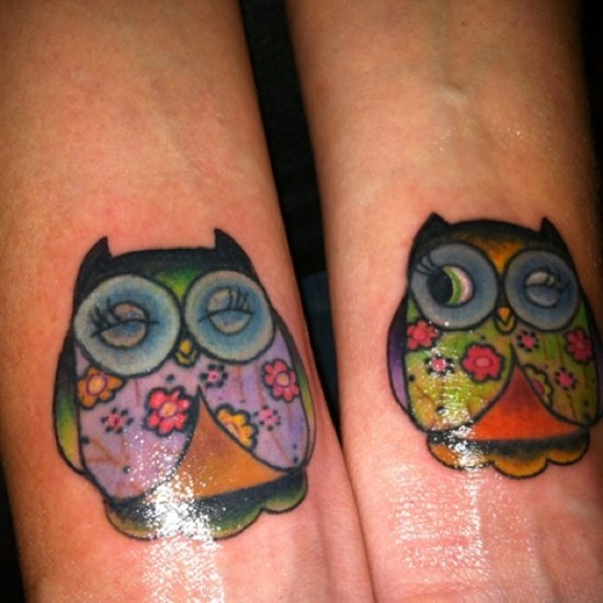 owl tattoo (8)