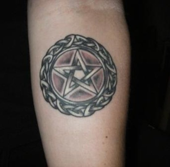 pagan and wiccan tattoo