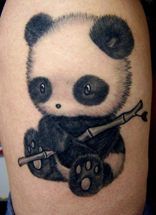 25 awesome panda bear tattoo ideas