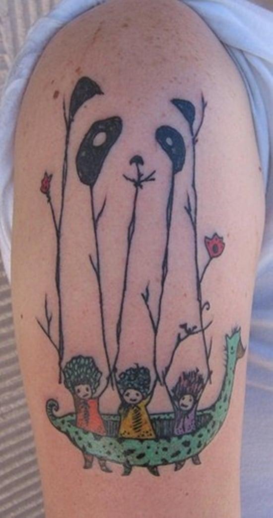 panda tattoo (7)