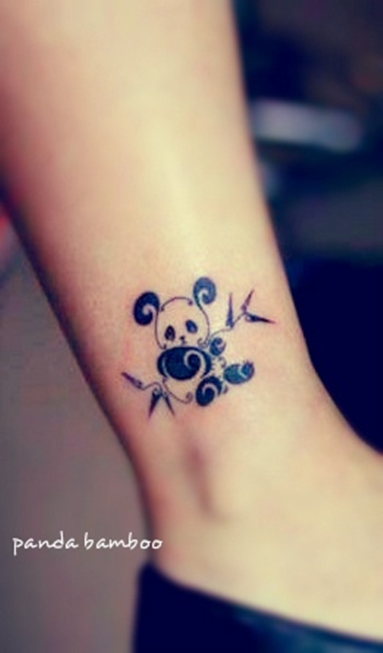 Gallery For gt Cute Panda Tattoos