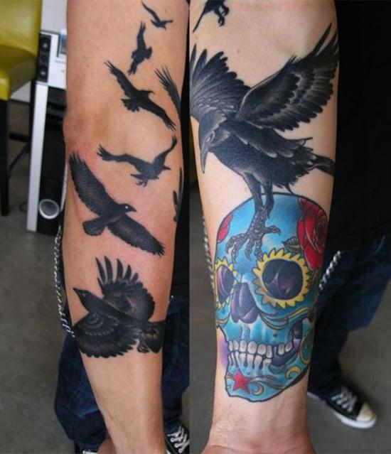 raven tattoo (11)