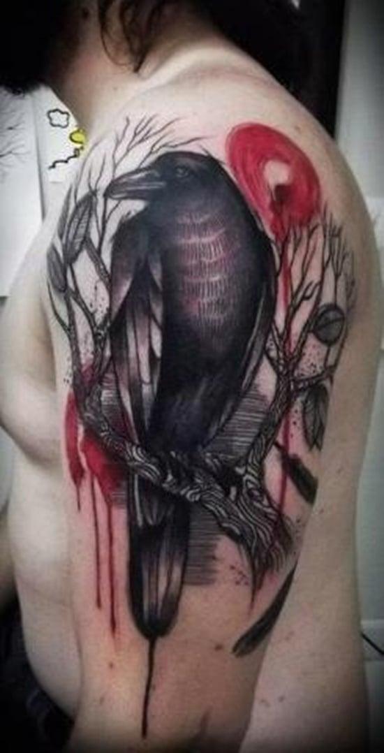 raven tattoo (14)