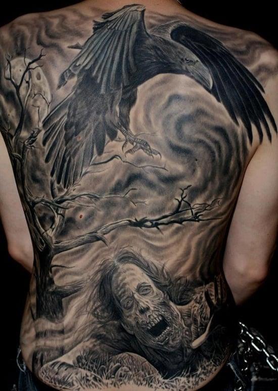 raven tattoo (3)