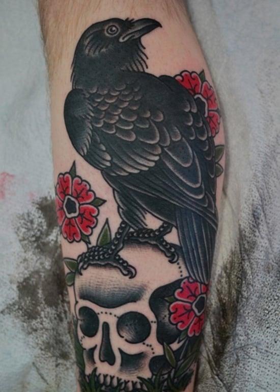 raven Tattoo (5)