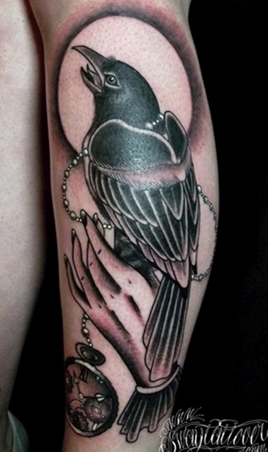 raven tattoo (6)