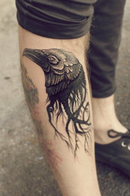 raven tattoo (7)