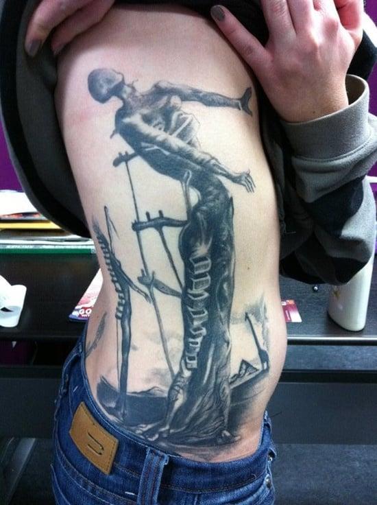 salvador dali tattoo (1)