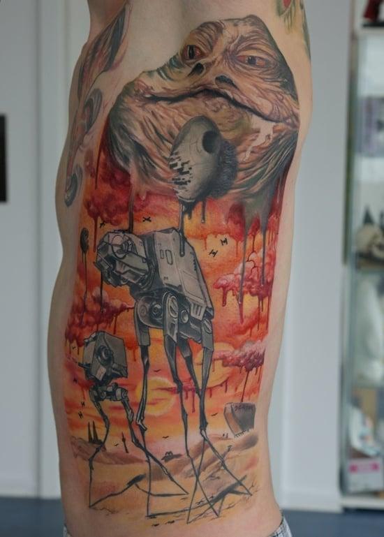 salvador dali tattoo (14)