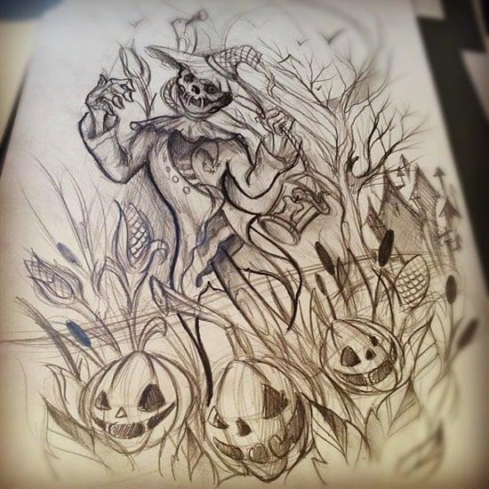 11-Scarecrow Tattoos