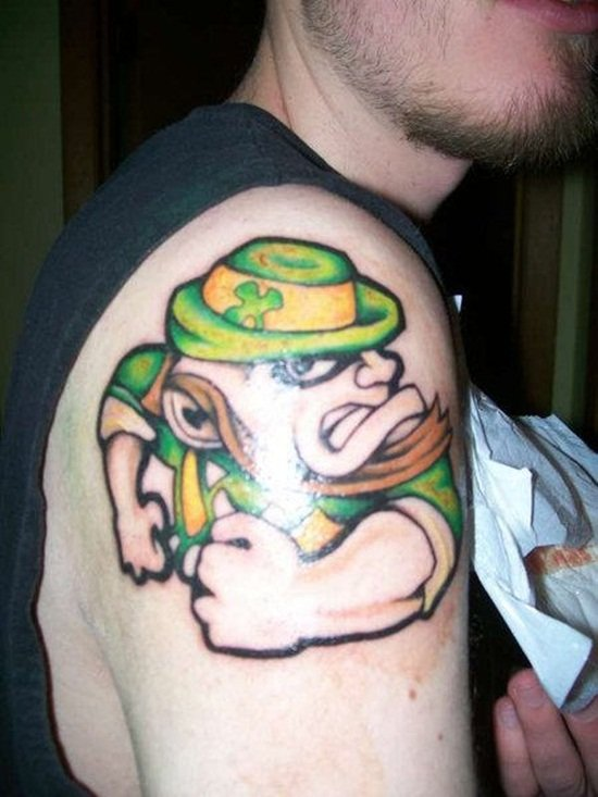 13-Leprechaun Tattoo