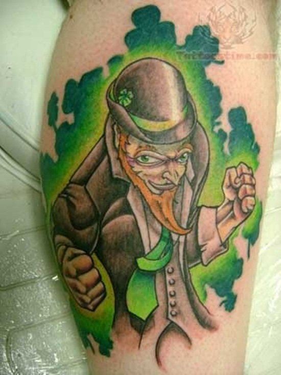 14-Leprechaun Tattoo