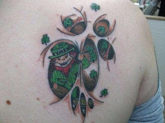 16-Leprechaun Tattoo