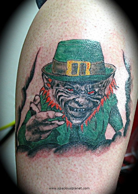 2-Leprechaun Tattoo