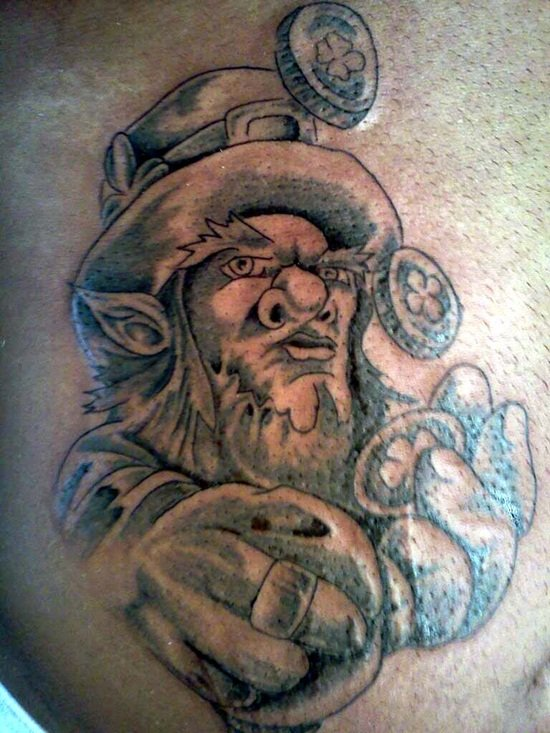 21-Leprechaun Tattoo