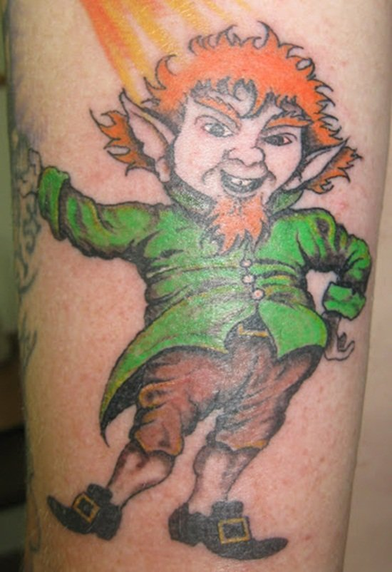 23-Leprechaun Tattoo