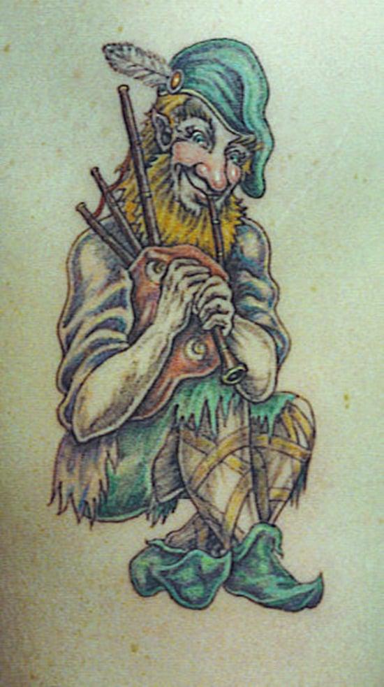 24-Leprechaun Tattoo