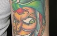25-Leprechaun Tattoo