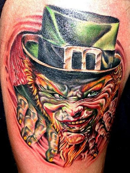 3-Leprechaun Tattoo