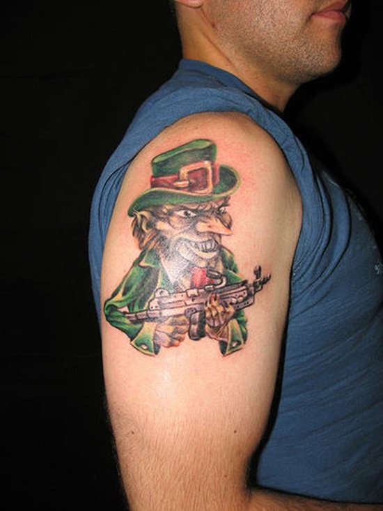 5-Leprechaun Tattoo