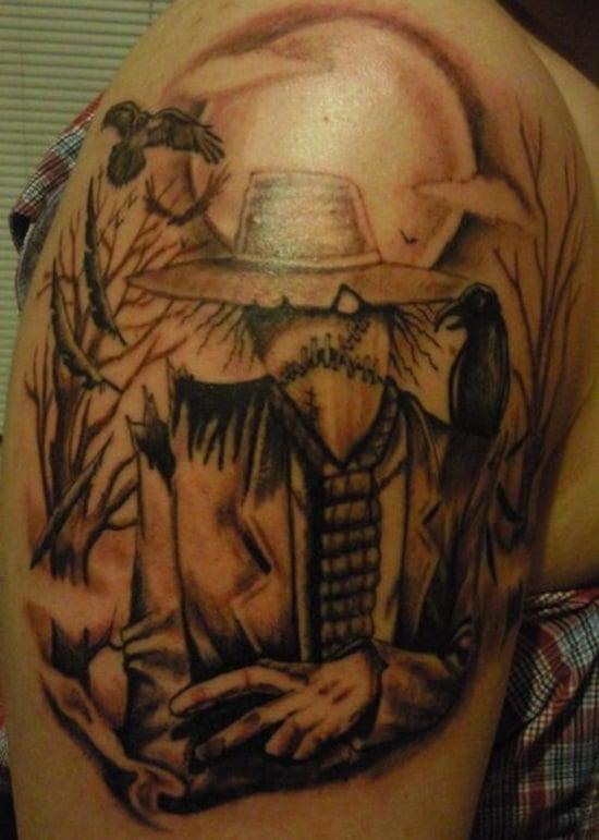 5-Scarecrow Tattoos