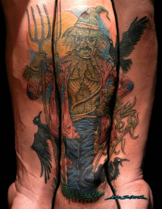 6-Scarecrow Tattoos