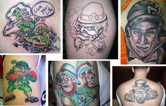 7-Leprechaun Tattoo