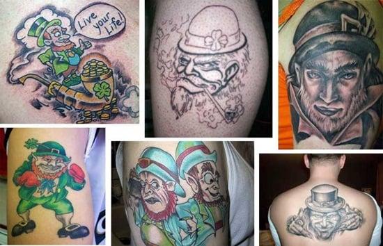 7-Leprechaun Tattoo