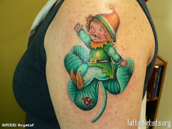 8-Leprechaun Tattoo