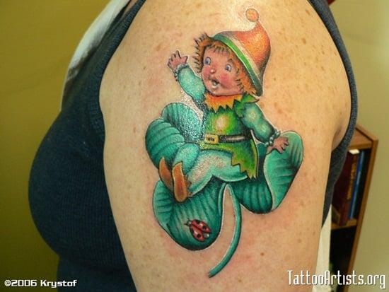 8-Leprechaun Tattoo