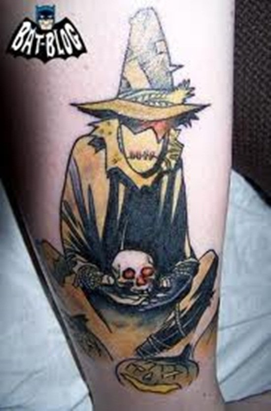 8-Scarecrow Tattoos