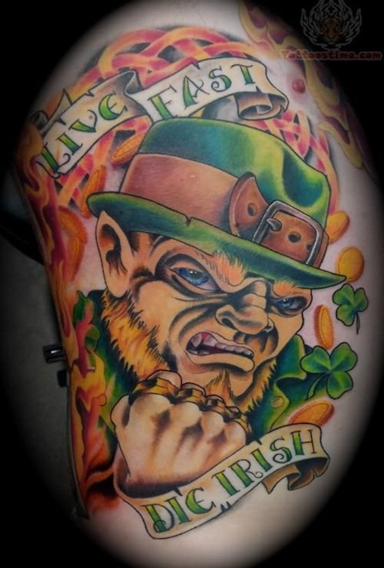 9-Leprechaun Tattoo