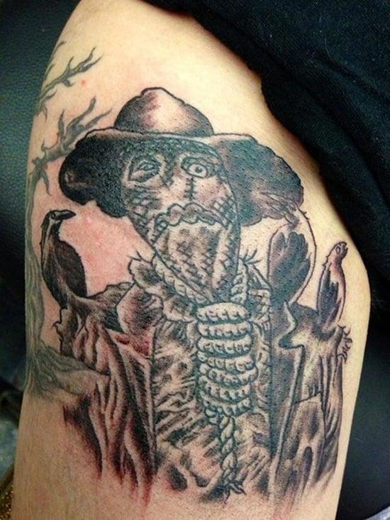 9-Scarecrow Tattoos