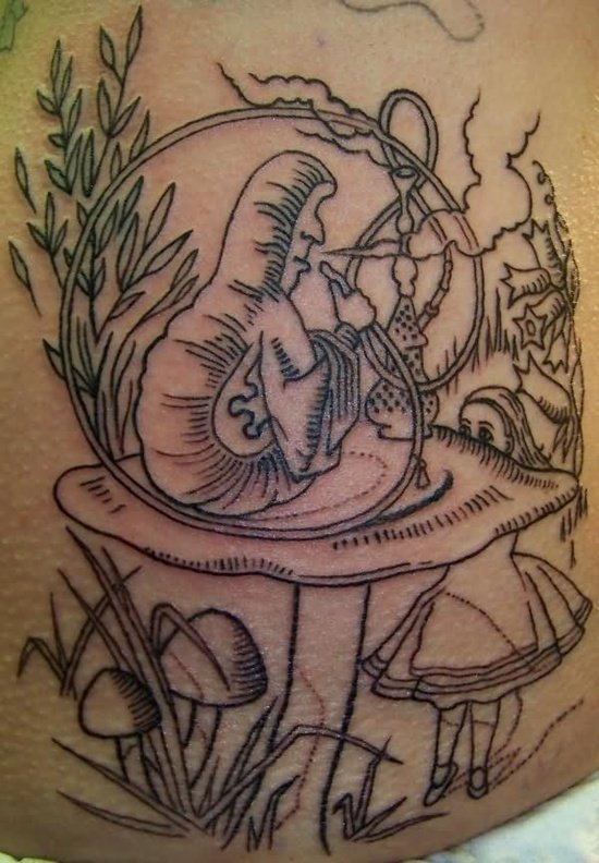 Graveyard And Cemetery Tattoos (24)