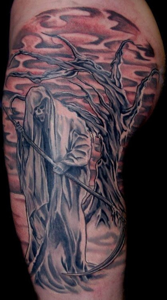 Graveyard And Cemetery Tattoos (5)