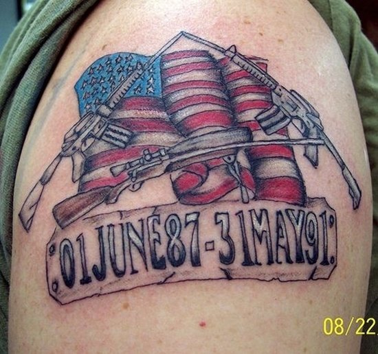 american flag tattoo (14)