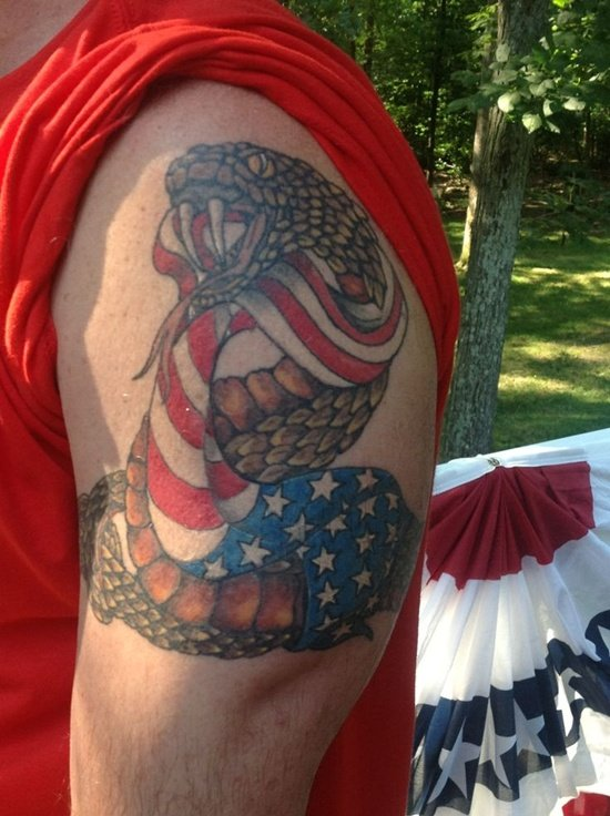 american flag tattoo (2)