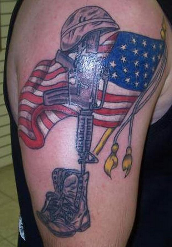 american flag tattoo (21)