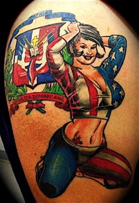 american flag tattoo (3)