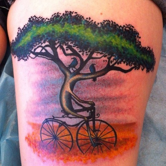 bicycle tattoo (14)