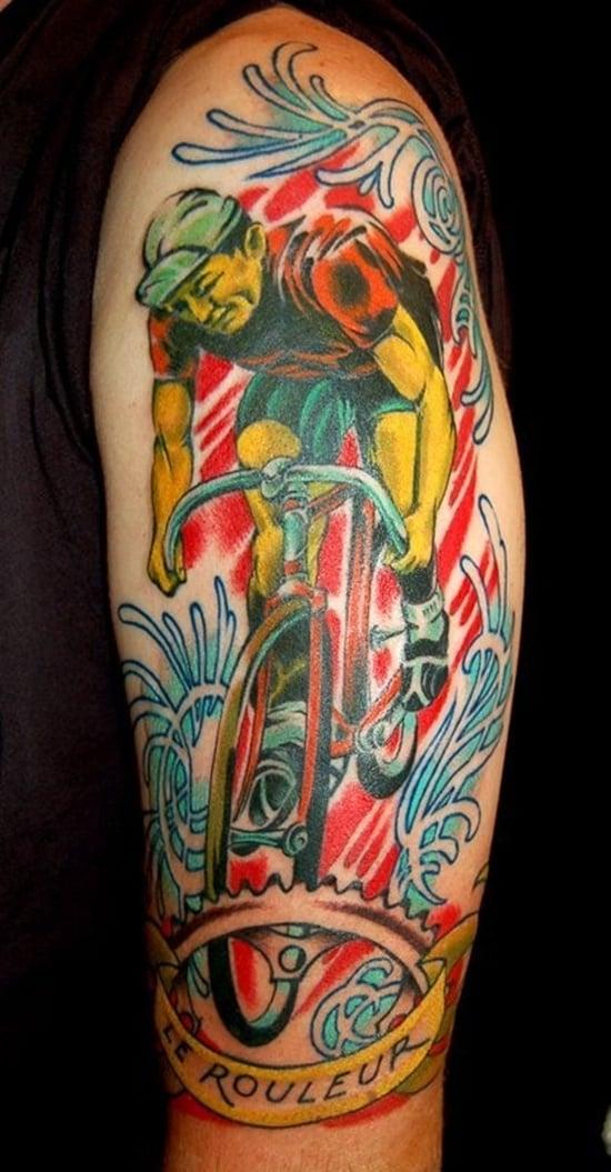 bicycle tattoo (16)